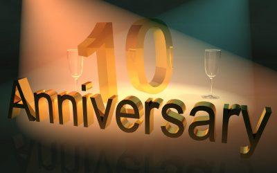 Wir feiern 10-jähriges Jubiläum unserer Mitarbeiterin!