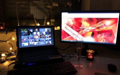 Unsere virtuelle Weihnachtsfeier war ein voller Erfolg!