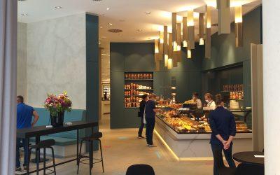 Unser Projekt Confiserie im Kaufhaus Breuninger in Nürnberg wurde nach den Umbauplanungen wieder neu eröffnet!