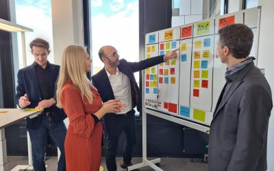 Wir werden agil – auch im internen Projektmanagement.