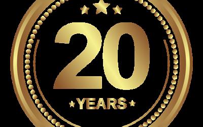 20-jähriges Firmenjubiläum unseres Geschäftsführers!