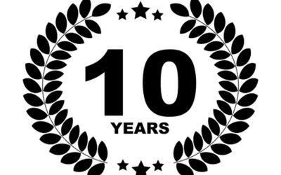 10-jähriges Firmenjubiläum unseres Prokuristen!