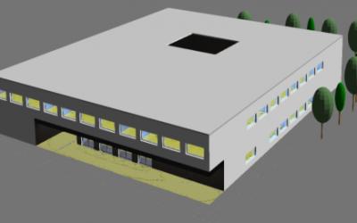Auftrag Erweiterungsbau der Ludwig-Uhland-Schule