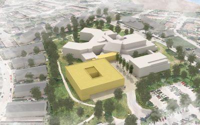 Gemeinsamer Auftrag für den Erweiterungsneubau Klinikum Altmühlfranken in Weißenburg mit dem Architekturbüro Ludes.