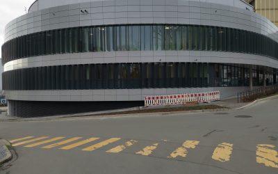 Die HNO-/Augenklinik am Universitätsklinikum Essen geht in Betrieb.